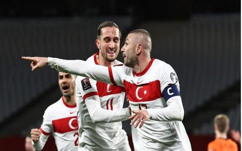 Turkey Stun Netherlands 4-2