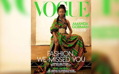 Amanda Gorman Graces Front Page Of Vogue Magazine