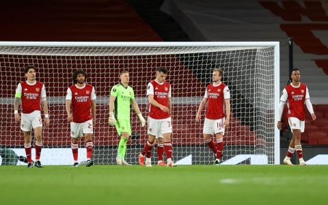 Arsenal Play 1-1 Against Slavia Prague In Europa League