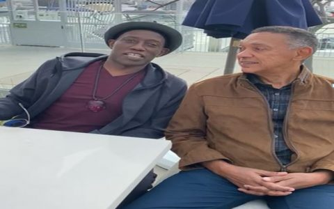 Ben Murray Bruce Meets With Actor, Wesley Snipes