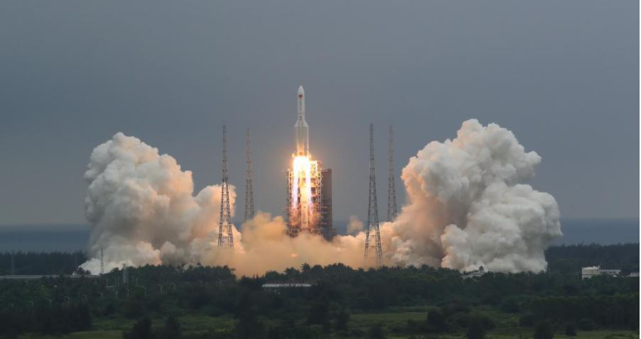 China Launches New Module Of Space Station
