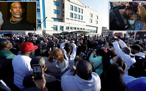 Hundreds Hold Prayer Vigil For Rapper