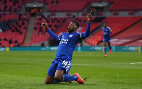 Iheanacho Sends Leicester To FA Cup Final