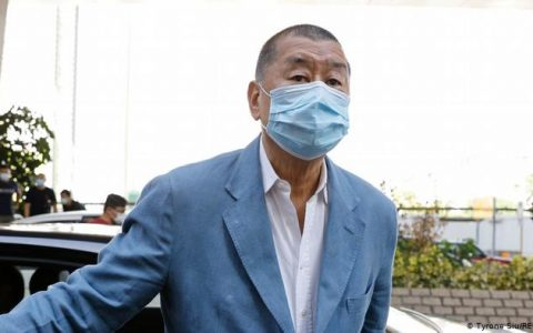 Jimmy Lai Sentenced To Prison