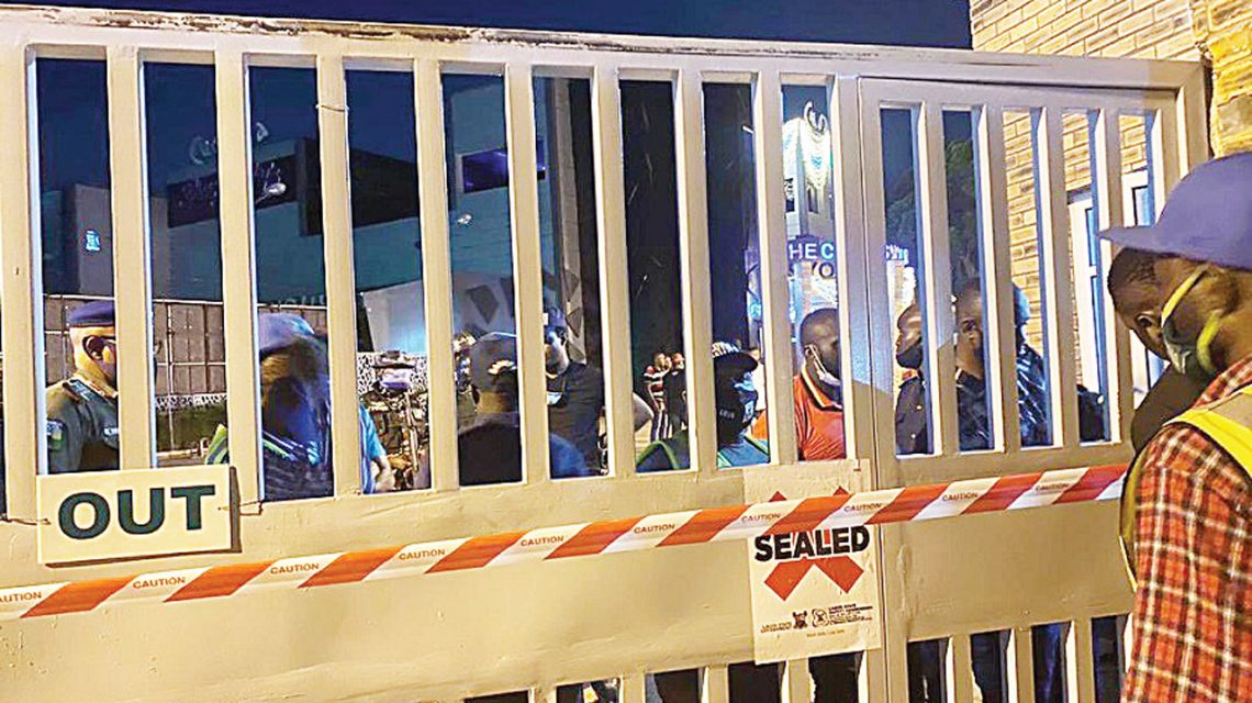 Lagos Shuts Clubs and Events Centres