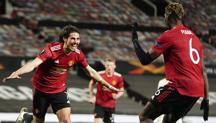 Man United Beat Roma 6-2 In Europa League