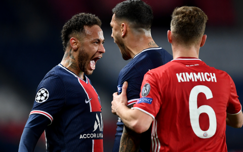 PSG Reach Beat Bayern Munich 1-0