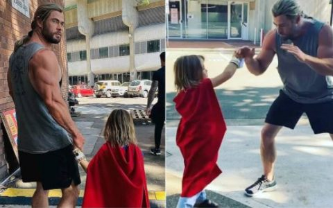 Chris Hemsworth Says Son Wants To Be Superman