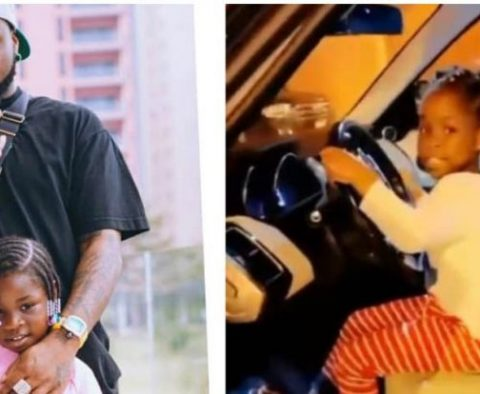 Davido Gifts Daughter SUV For Birthday