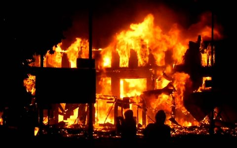 Fire Guts INEC Office In Enugu