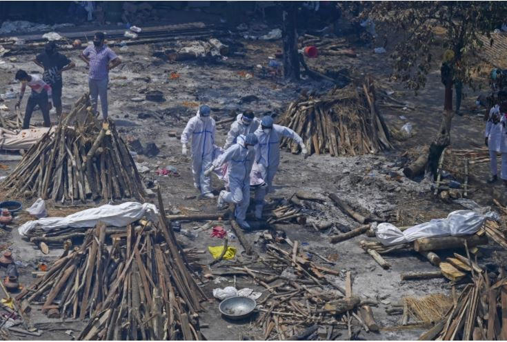 India Records 300,000 Deaths