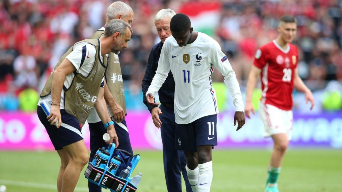 Dembele Ruled Out Of Euro 2020