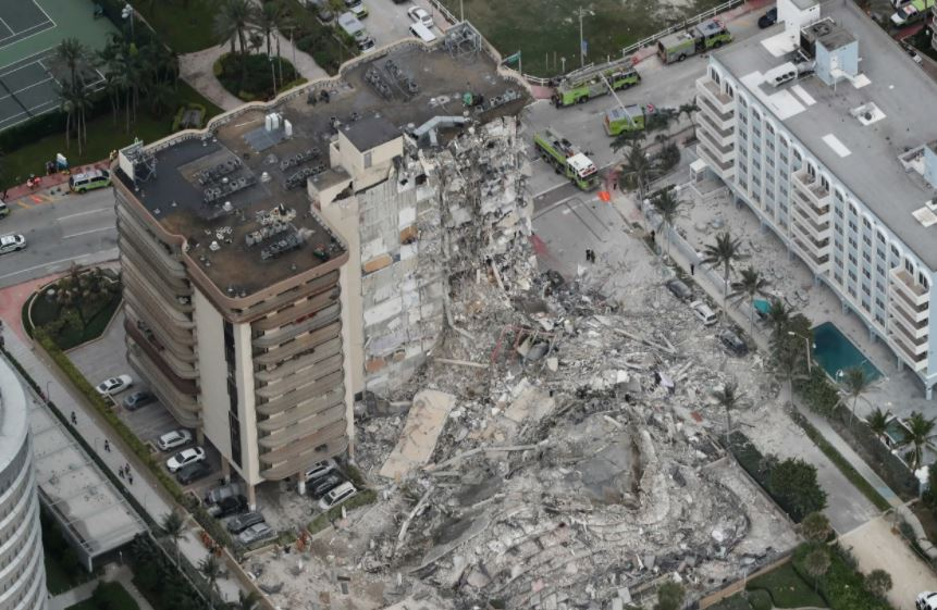 Almost 100 Missing In Florida Building Collapse
