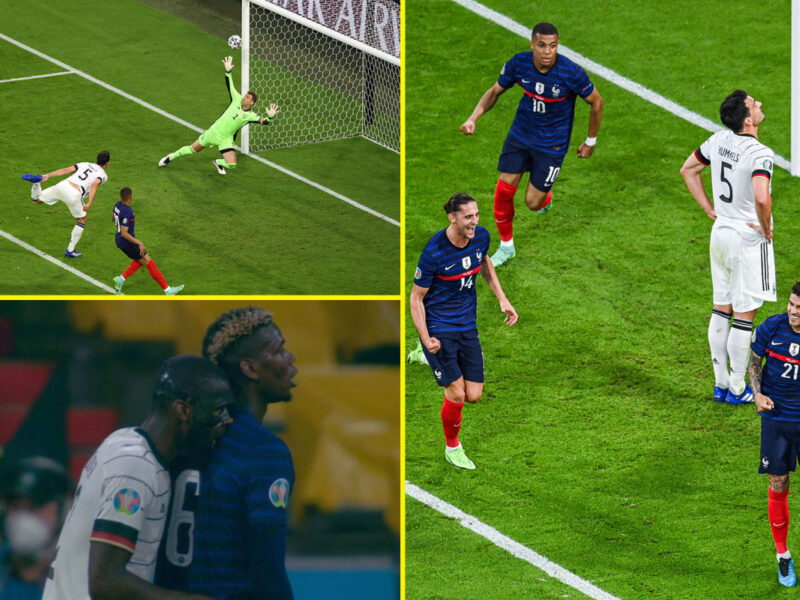France Beat Germany 1-0 In Euro 2020