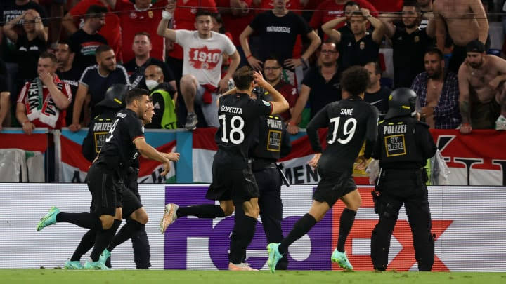 Germany Set To Face England After 2-2 Draw With Hungary
