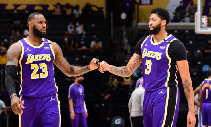 Lakers Out Of NBA Play-Offs