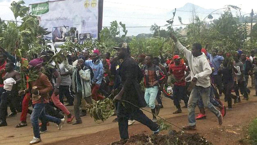 People Inciting Violence In Cameroon