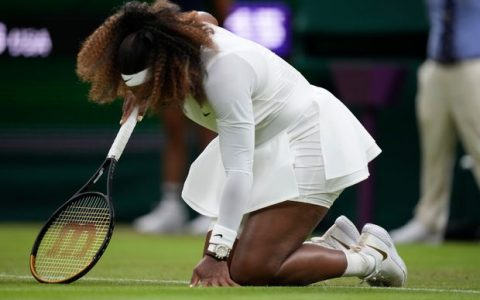 Serena William Out Of Wimbledon