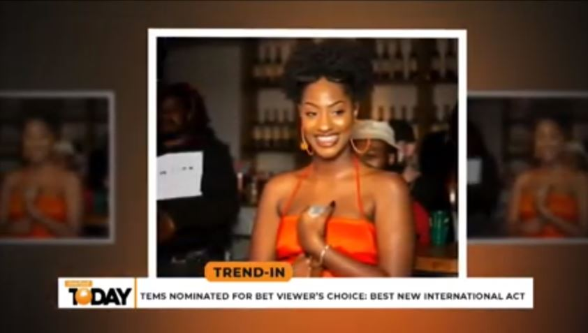 Tems Nominated For BET Viewers' Choice: Best New International Act | Trend-In
