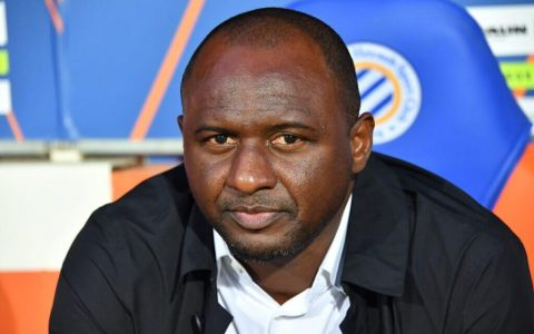 Patrick Vieira Appointed As Crystal Palace New Coach